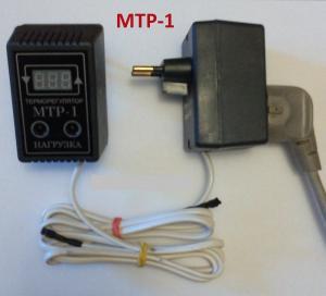 Фото  Терморегулятор розеточный МТР1