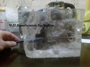 Фото Кроме саженцев  Кристаллы соли (большой, прозрачный, целый) кусок соли