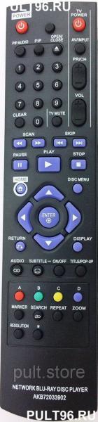 Пульт LG AKB72033902