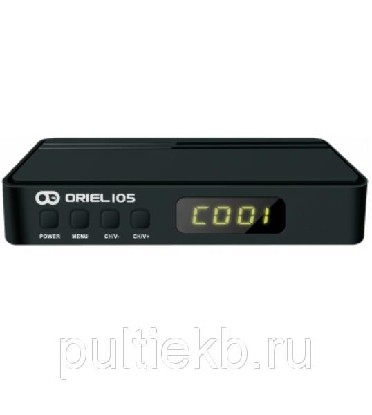 Цифровая приставка DVB-T2 Oriel 105