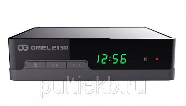 Цифровая приставка DVB-T2 Oriel 213D