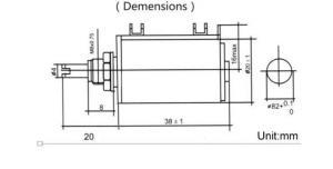 Фото Резисторы, Многооборотные Резистор многооборотный BOCHEN 100 Ом 2 Вт