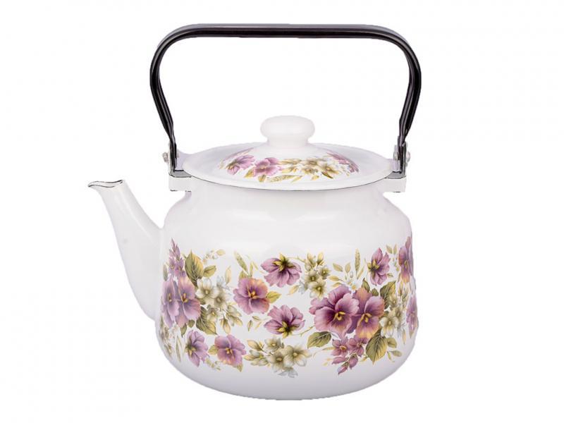 Фото Чайники, Чайники эмалированные Чайник EPOS 3,5л Джулия