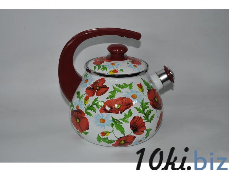 Чайник EPOS 2,5л со свистком Маковое поле Чайники в Днепропетровске