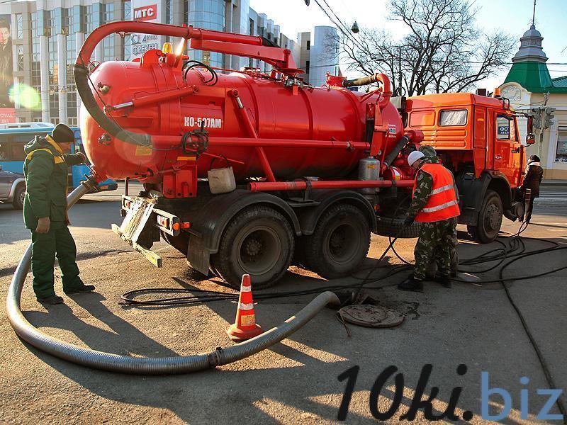 Откачка канализации, услуги илососа Услуги монтажа внутренних инженерных систем (водопровод, канализация) купить на рынке Апраксин Двор