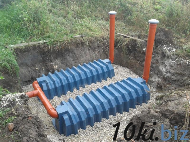 Установка септиков - Услуги монтажа внутренних инженерных систем (водопровод, канализация) в Санкт-Петербурге
