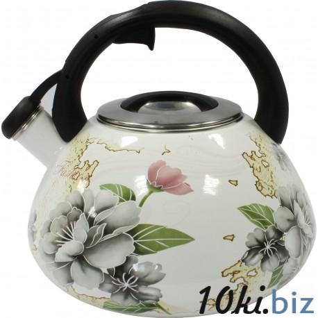 Чайник со свистком 3,2л Zauberg Серая роза Чайники в Днепропетровске