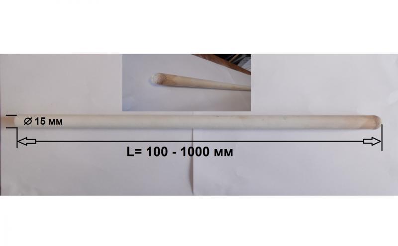 ЧКЗ-15, керамический чехол для термопар до + 1300°С