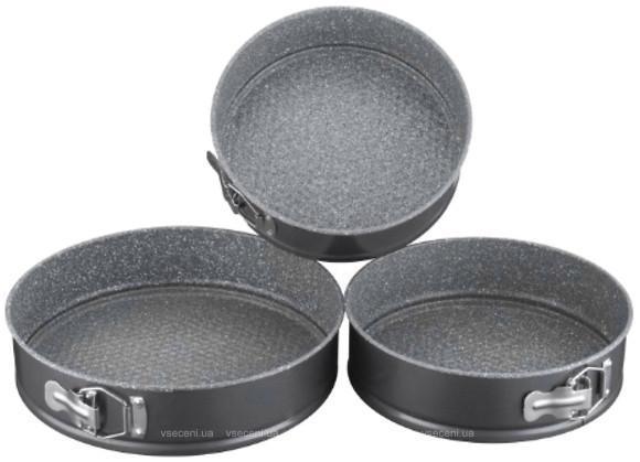 Набор высококачественных раъземных форм для выпечки PETERHOF 3 пр. PH-25301