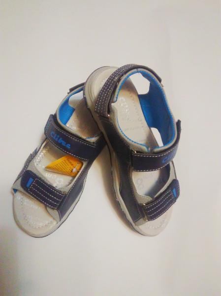 Детские босоножки Clibee синии открытые 32-36