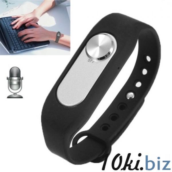 VR-06 Умный браслет цифровой диктофон 4 ГБ встроенной памяти 70 часов аудиозаписи, цена фото купить в Киеве. Раздел Диктофоны и аксессуары