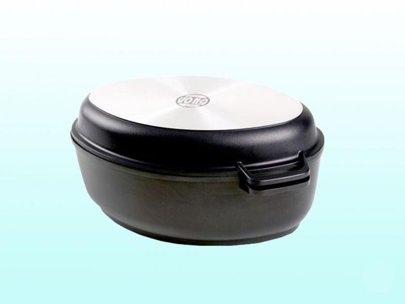 Гусятница Биол с крышкой-сковородой 4л