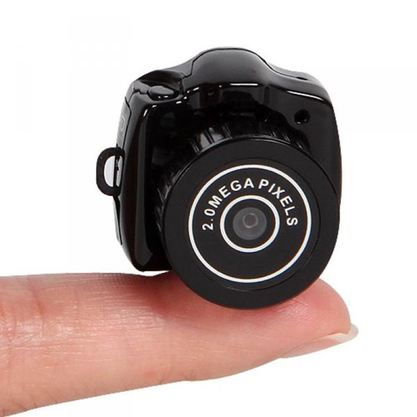 Mini Y2000 Мини Видеокамера наблюдения 2мп беспроводная с функциями Фотоаппарат  веб-камера циклическая запись