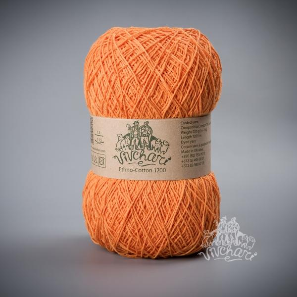 Ethno-Cotton оранж09-1200 м