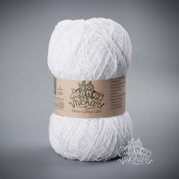 Ethno-Cotton 001белый-1200 м