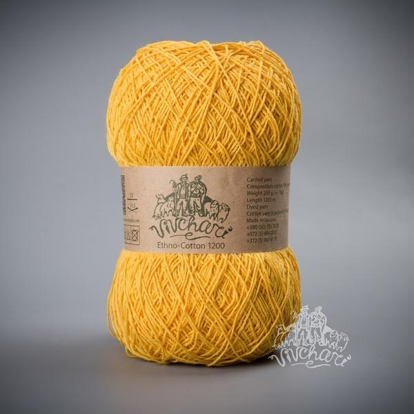 Ethno-Cotton желтый007-1200 м