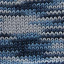 Мерино лайт 02 серо-голубой мелаж