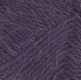 Альпака 100% 2416 т.лиловый