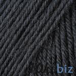 Wool 585 Black купить в Симферополе - 80 шерсть, 20 полиамид