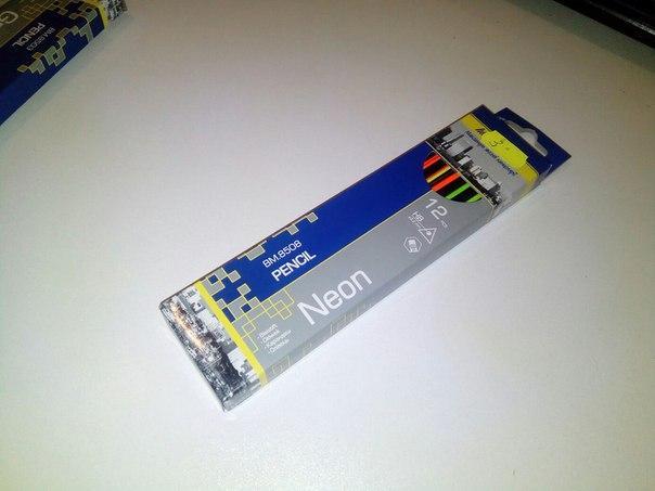 Цветные карандаши Neon