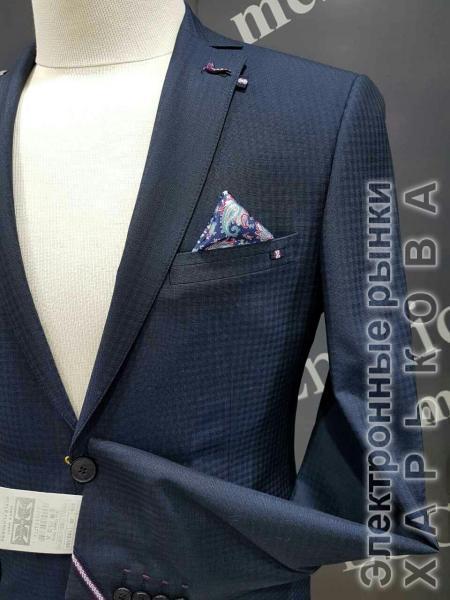 Классика жанра - мужской костюм, темно-синий