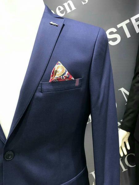 Фото Костюмы, Молодежные костюмы Турция Классический костюм для мужчин, цвет темно синий
