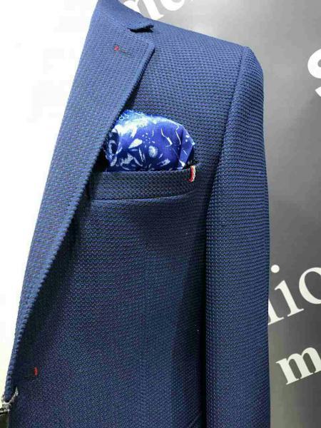 Фото Костюмы, Молодежные костюмы Турция Классический костюм, цвет сизо-синий