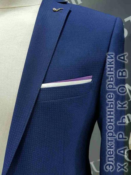 Костюм выпускной, цвет темно-синий