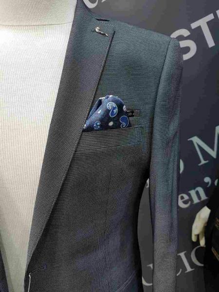 Фото Костюмы, Молодежные костюмы Турция Косюм деловой мужской, темно-серый крап