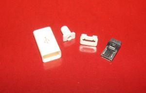 Фото Штекер , гнездо , Micro USB , USB , Mini USB  Штекер micro USB 5pin