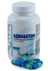 Адиабетон, капсулы 100 шт