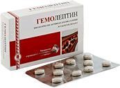 Фото СРЕДСТВА ДЛЯ ВНУТРЕННЕГО ПРИМЕНЕНИЯ  Гемолептин, таблетки (для улучшения функции кроветворения)