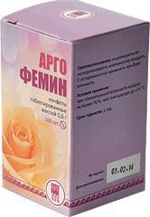 """Конфеты таблетированные с растительными экстрактами """"Аргофемин"""", 100 шт"""