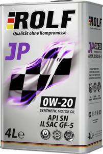 Фото Масла импортные , ROLF ROLF JP 0w20 4л АКЦИЯ -50% синтетика