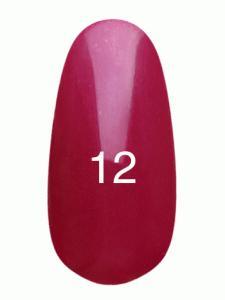 Гель лак № 12 (малиновый с перламутром)