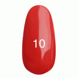 Гель лак № 10 (ализариновый красный)