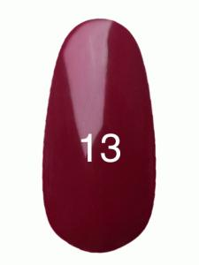 Гель лак № 13 (вишневый, эмаль)