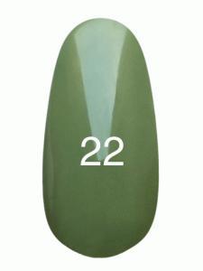 Гель лак № 22 (нежно оливковый, эмаль)