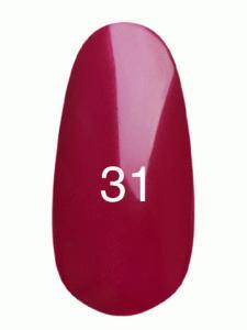 Гель лак № 31 (малиновый, эмаль)