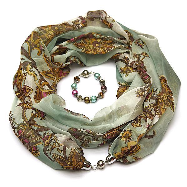 Женский шарф Foxtrot Spring модели 003293_32_40b