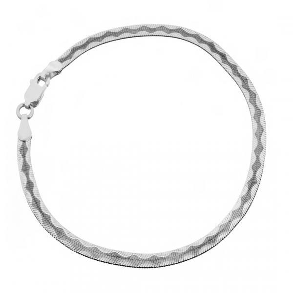 Серебрянный браслет Silvex925 модели 023В 6/18