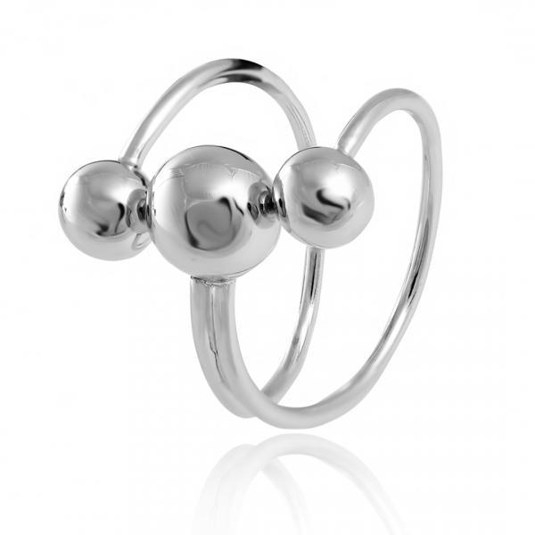 Серебряное кольцо Silvex925 18.7 мм модели К2/819-М