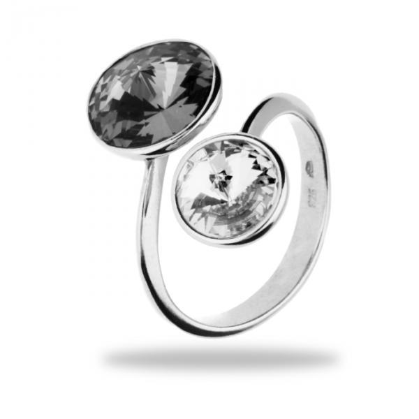 Серебряное кольцо Spark PIRULI со Swarovski модели PR1122SNC