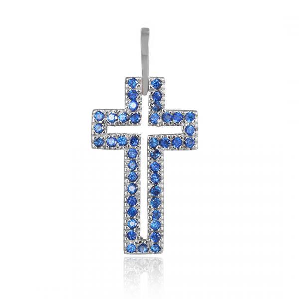 Серебряный декоративный крест Silvex925 модели П2ФС/071