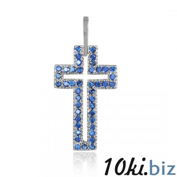 Серебряный декоративный крест Silvex925 модели П2ФС/071 - Серебряные кулоны, подвески в магазине Одессы