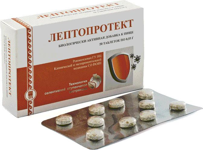 Лептопротект, таблетки