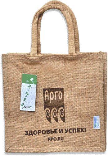 Джутовая сумка Арго