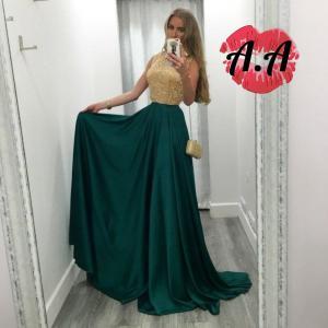 Фото Максі плаття Плаття з топом із паєток
