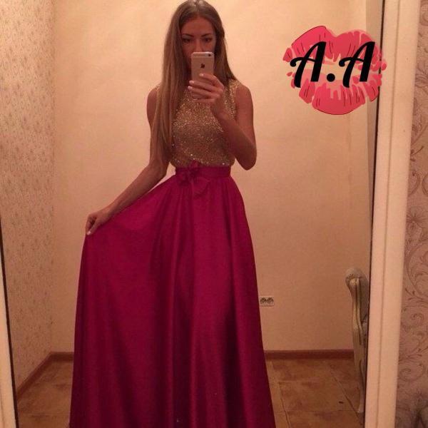 Плаття з топом із паєток