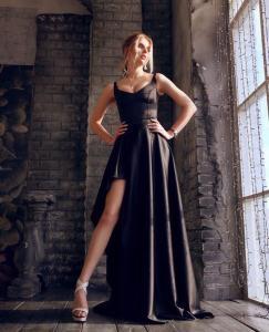 Фото Максі плаття Плаття: топ + спідниця